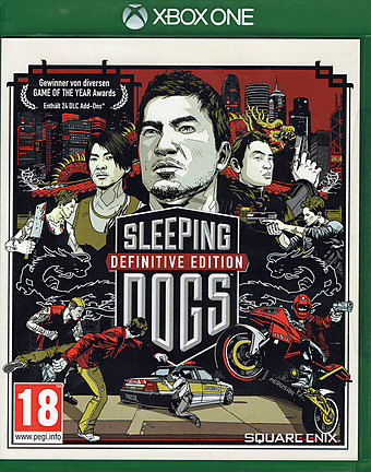 Sleeping Dogs Definitive Edition uncut PEGI Cover Packshot