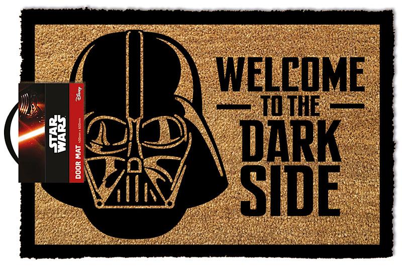 star wars fu matte welcome to the dark side. Black Bedroom Furniture Sets. Home Design Ideas