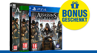 Assassins Creed Syndicate uncut bei Gameware kaufen!