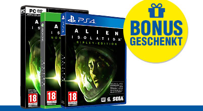 Alien: Isolation (AT-PEGI) uncut bei Gameware kaufen!