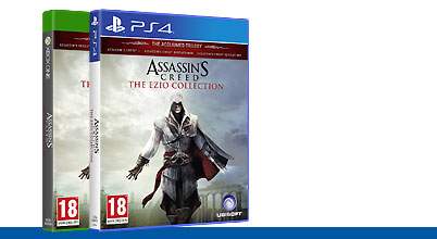 Assassin's Creed: The Ezio Collection uncut AT-PEGI bei Gameware kaufen!