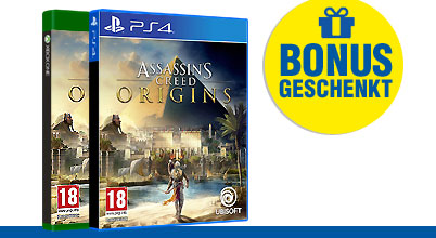 Assassin's Creed: Origins uncut PEGI bei Gameware kaufen!