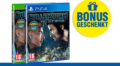 Bulletstorm Full Clip Edition uncut PEGI bei Gameware kaufen!