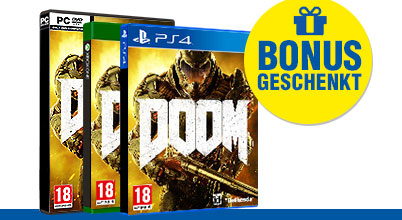 Doom uncut AT-PEGI bei Gameware kaufen!