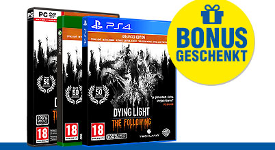 Dying Light The Following Enhanced Edition uncut AT-PEGI bei Gameware kaufen!