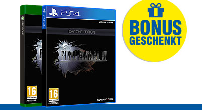 Final Fantasy XV uncut AT-PEGI bei Gameware kaufen!
