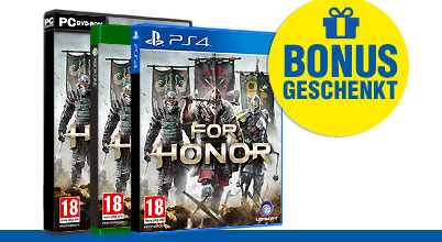 For Honor uncut PEGI bei Gameware kaufen!