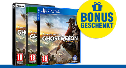 Tom Clancy's Ghost Recon Wildlands uncut PEGI bei Gameware kaufen!