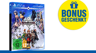 Kingdom Hearts HD 2.8 Final Chapter Prologue uncut PEGI bei Gameware kaufen!