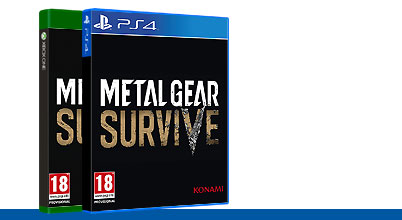 Metal Gear Survive uncut PEGI bei Gameware kaufen!