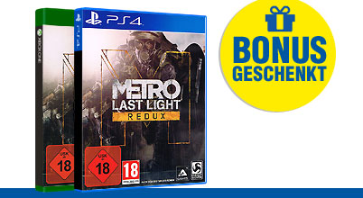 Metro Last Light Redux uncut PEGI bei Gameware kaufen!