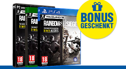 Tom Clancy's Rainbow Six: Siege uncut bei Gameware kaufen!
