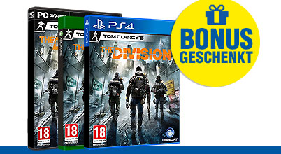 Tom Clancys The Division uncut AT-PEGI bei Gameware kaufen!