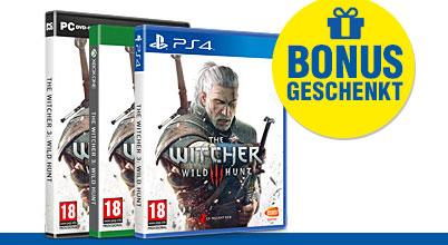 The Witcher 3: Wild Hunt uncut AT-PEGI bei Gameware kaufen!