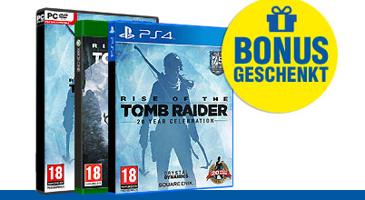 Rise of the Tomb Raider uncut AT-PEGI bei Gameware kaufen!