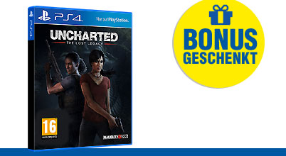 Uncharted: The Lost Legacy uncut PEGI bei Gameware kaufen!