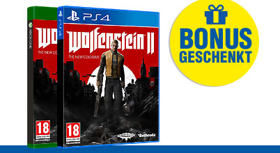 Wolfenstein II: The New Colossus uncut PEGI bei Gameware kaufen!