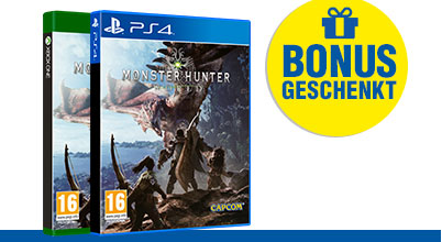 Monster Hunter: World bei Gameware kaufen!