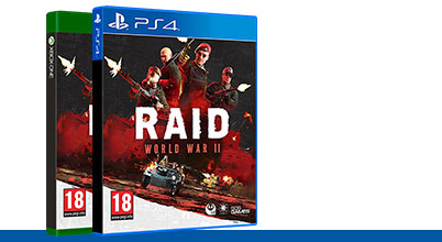 RAID: World War II bei Gameware kaufen!