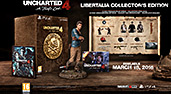 Uncharted 4: A Thief's End Libertalia Collectors Edition PEGI  Inhalte
