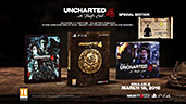 Uncharted 4: A Thief's End Special Edition PEGI AT-Version Inhalte