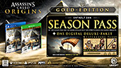 Assassin's Creed: Origins Gold Edition uncut PEGI AT-Version Inhalte