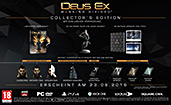 Deus Ex: Mankind Divided Collectors Edition Inhalte