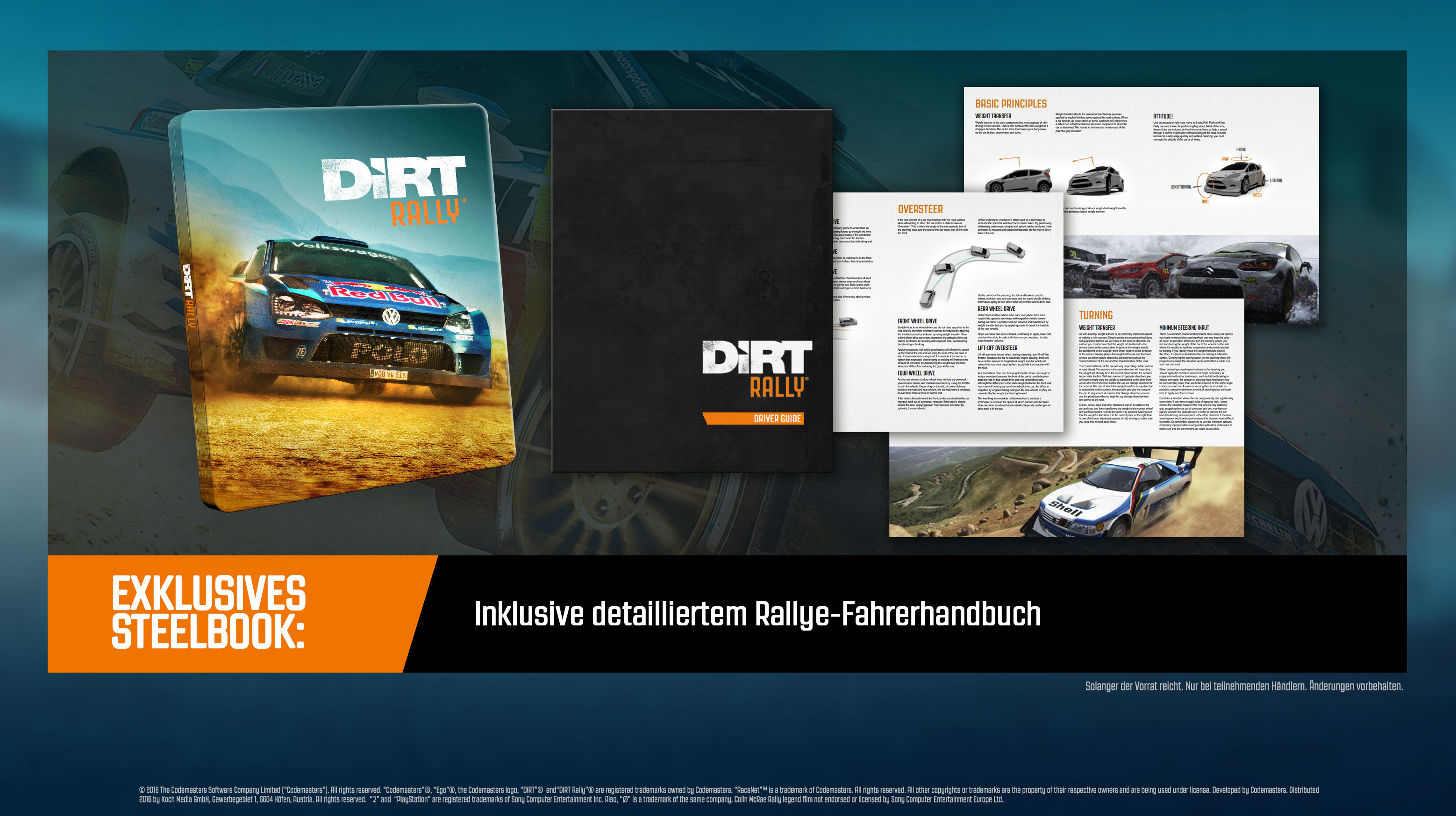 Dirt Rally Steelbook Legend Edition