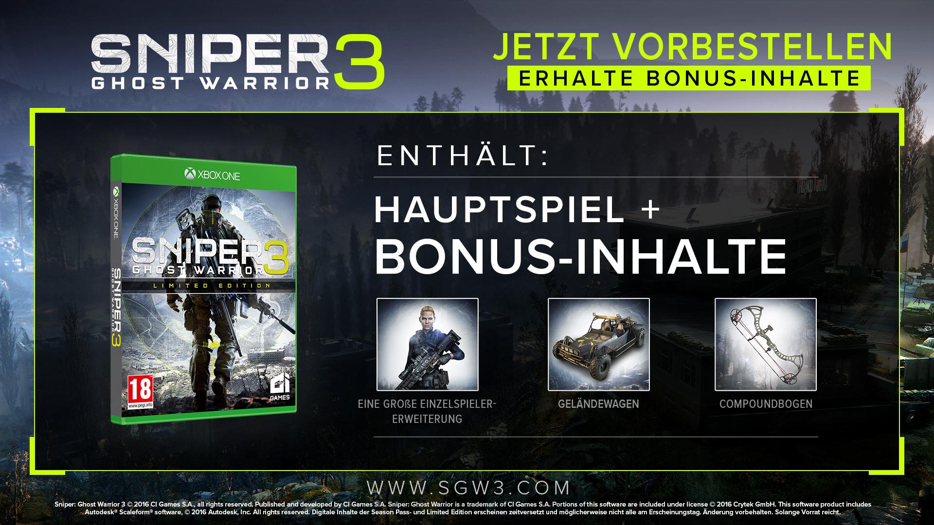 Sniper: Ghost Warrior 3 Message Board for PlayStation 4 - GameFAQs