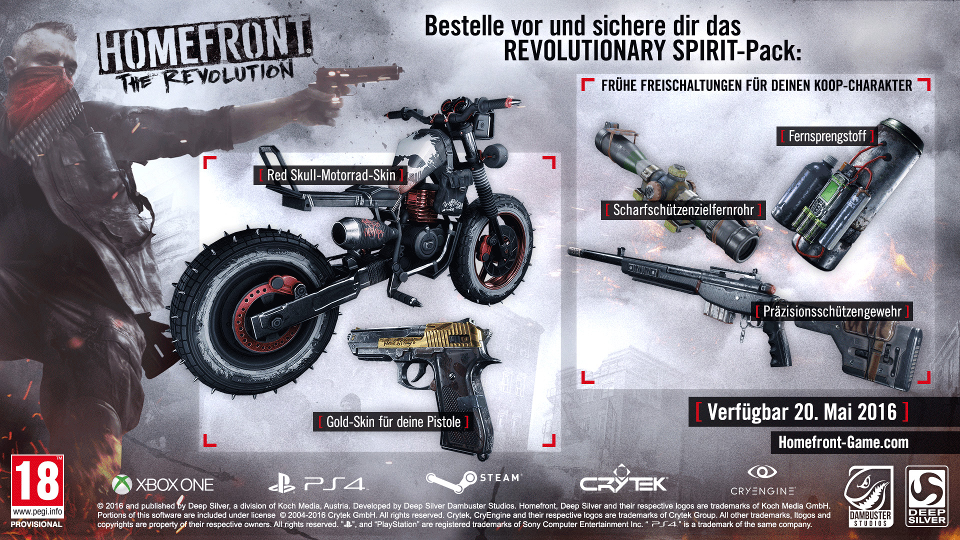 Vorbesteller-Aktion zu Homefront: The Revolution