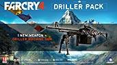 Bestelle Far Cry 4 als uncut Limited Edition bei gameware.at vor und erhalte zus�tzlich das Driller-Pack als DLC dazu