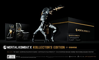 Mortal Kombat X Kollectors Edition by Coarse US-exklusiver Import.
