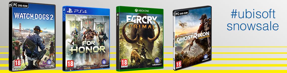 Ubisoft SnowSale von 01. Januar bis 14. Januar