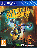 Destroy All Humans! uncut