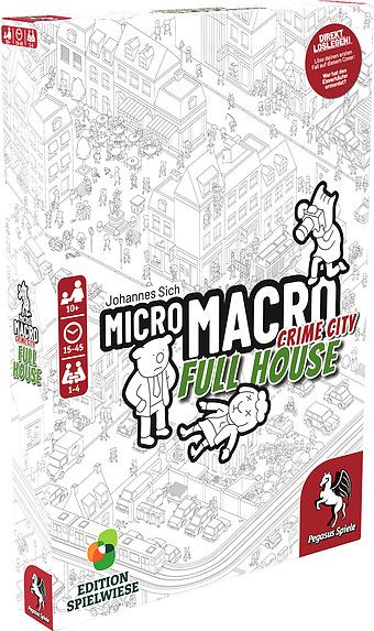 Micro Macro: Crime City 2 - Full House Cover