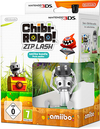 Chibi-Robo!: Zip Lash 3DS Cover