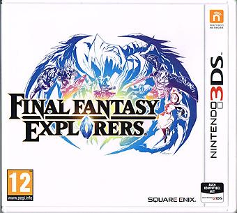 Final Fantasy Explorers Cover