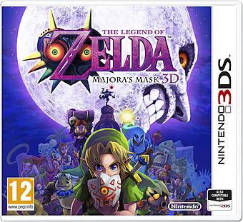 The Legend of Zelda: Majoras Mask 3D Cover