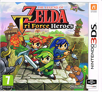 The Legend of Zelda: Triforce Heroes Cover
