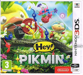 Hey! Pikmin (AT-PEGI) Cover