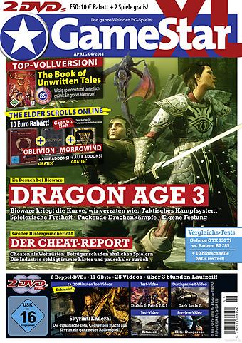Alle in der Gamestar 04/14 getesteten Spiele günstig und garantiert unzensiert bei Gameware kaufen