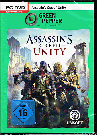 Assassins Creed: Unity PEGI Packshot