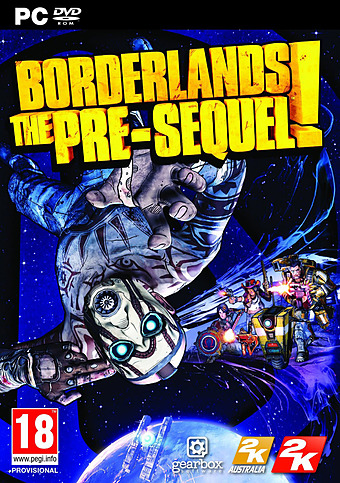 Borderlands: The Pre-Sequel PEGI Packshot