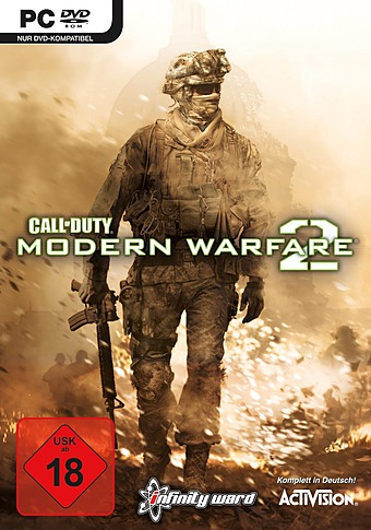 Call of Duty: Modern Warfare 2 uncut Packshot