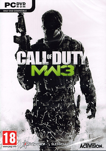 Call of Duty: Modern Warfare 3 uncut Cover Packshot
