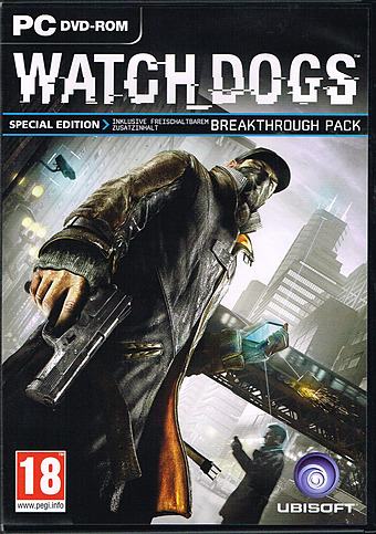 Watch Dogs Special Edition Cover