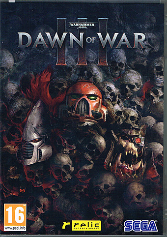 Warhammer 40.000: Dawn of War 3 uncut AT-PEGI Cover