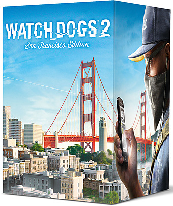 Watch Dogs 2 uncut AT-PEGI Cover