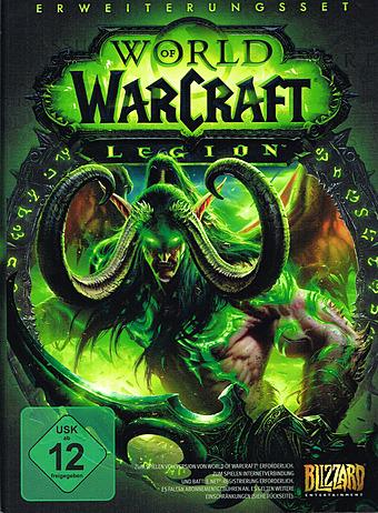 World of Warcraft: Legion Cover