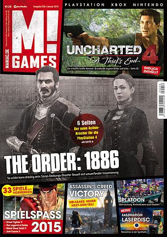 Die aktuellen Wertungen der M!Games Ausgabe Jänner 2015